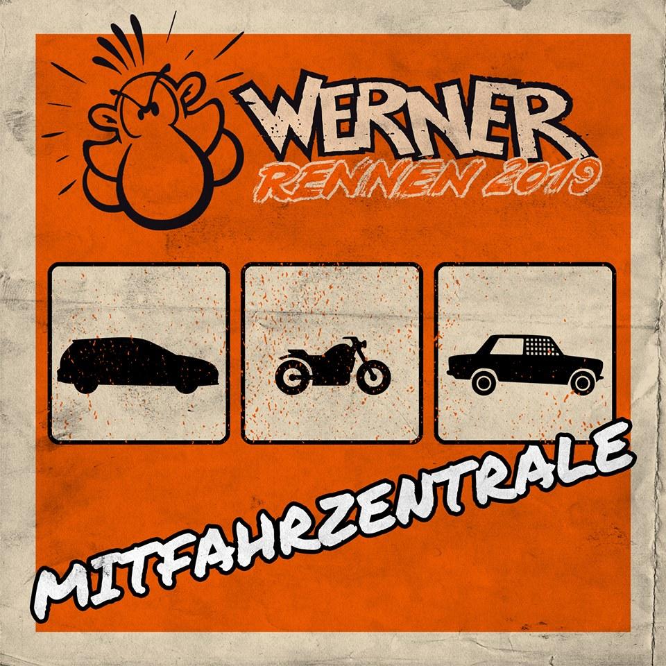 Mitfahrzentrale – Werner Rennen 2019