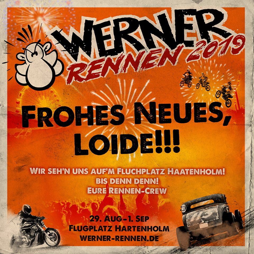 Frohes Neues, Loide!!!