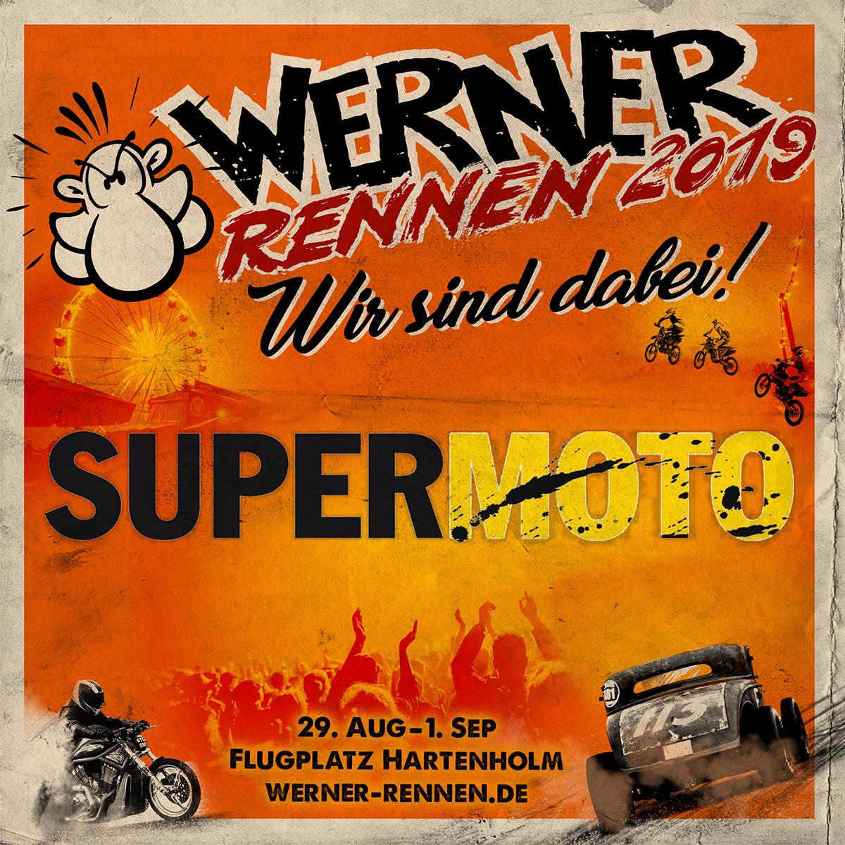 Große Knadderei auf 5. Rennstrecke beim Werner Rennen 2019