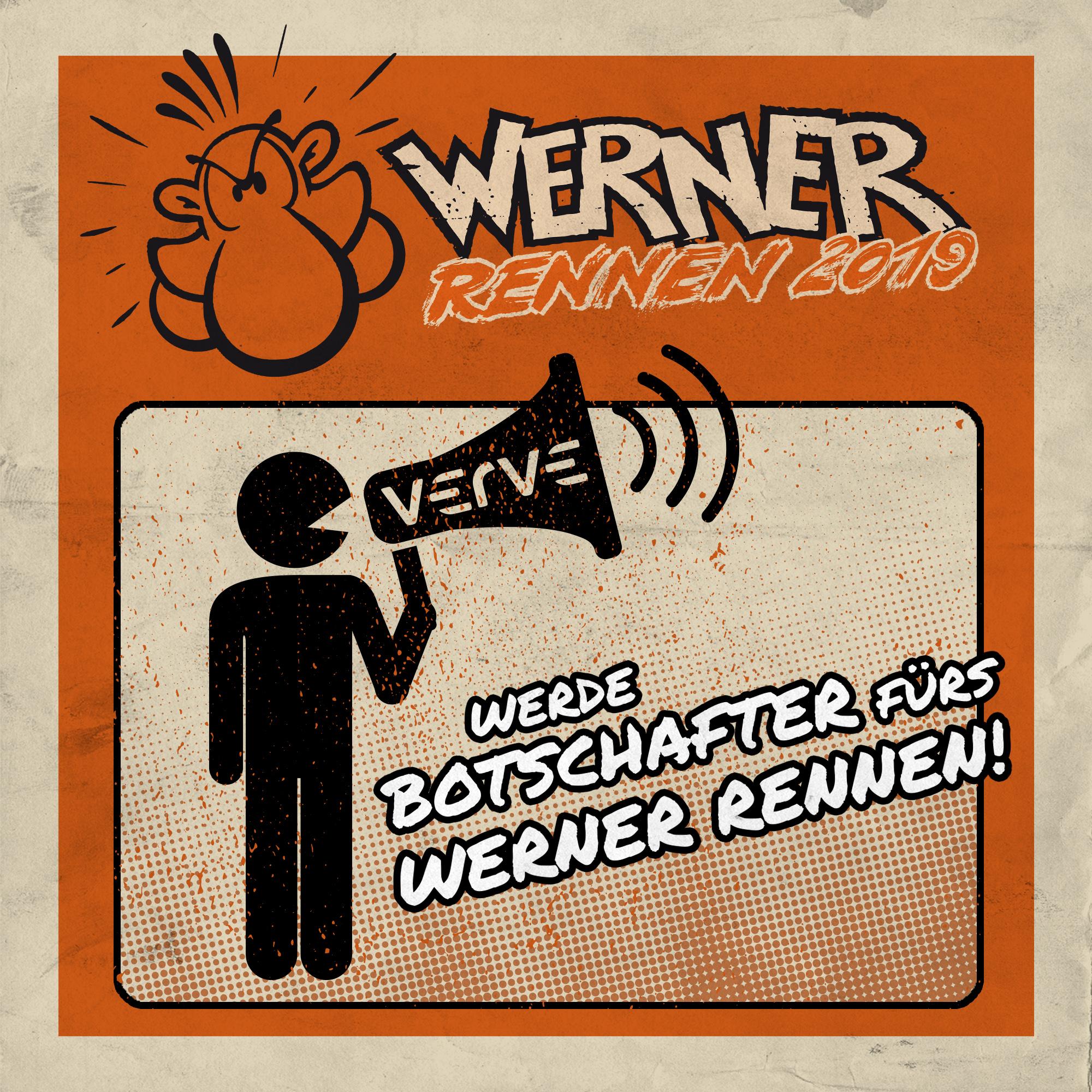 Werde Botschafter fürs Werner Rennen!