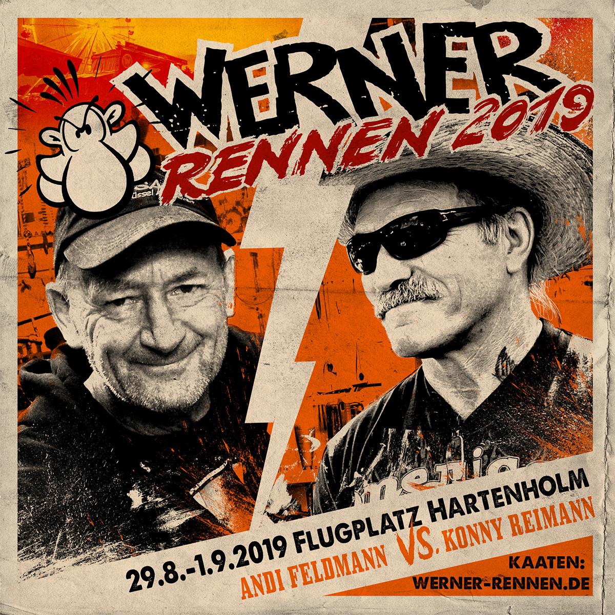 Das Rennen Andi Feldmann gegen Konny Reimann