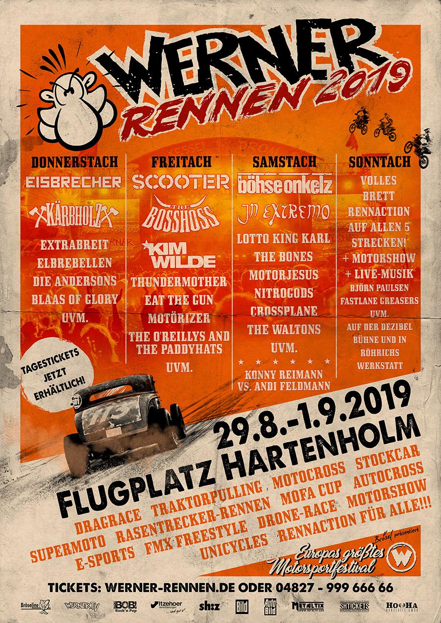 Tagestickets fürs Werner Rennen 2019 ab sofort erhältlich!