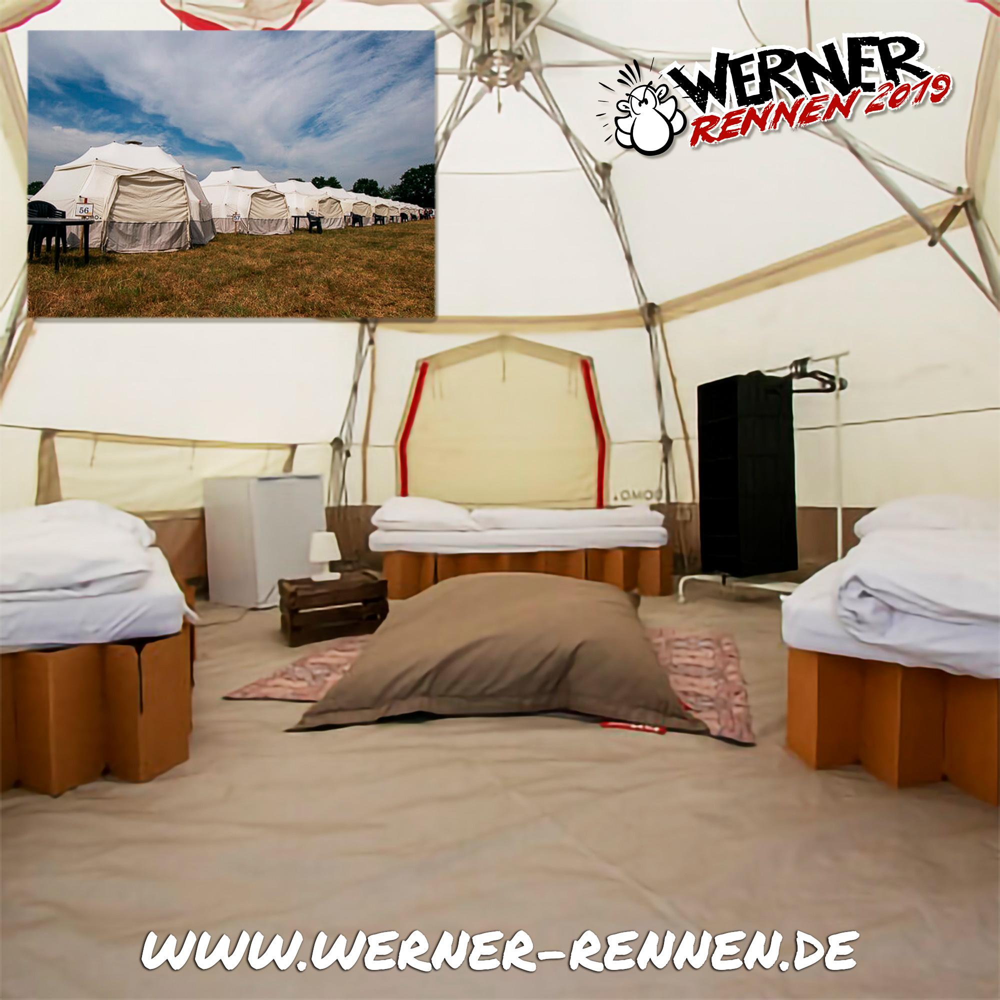 DOMO-Zelte verfügbar!
